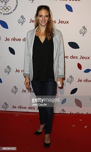 Virginie Dedieu attends the launch party for 'Je Reve Des Jeux' 'I dream about the Games' a campaign to promote Paris' bid for the Olympic Games in...
