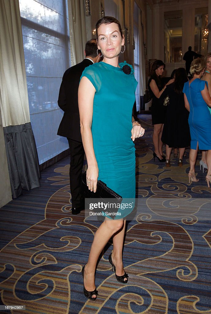 "Virginie Degryse attends EIF Women's Cancer Research Fund's 16th Annual ""An Unforgettable Evening"" presented by Saks Fifth Avenue at the Beverly Wilshire Four Seasons Hotel on May 2, 2013 in Beverly Hills, California."