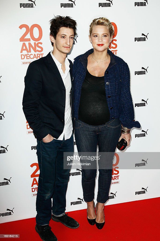 Virginie Efira and Pierre Niney attend '20 Ans D'Ecart' Premiere at Gaumont Capucines on March 5, 2013 in Paris, France.