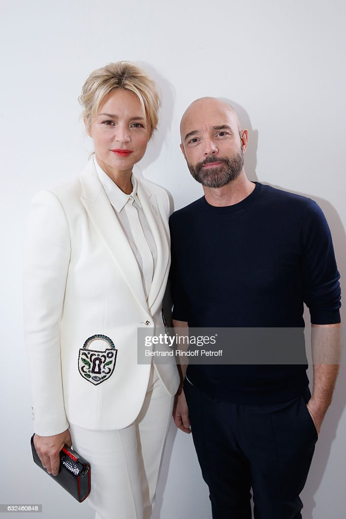 Schiaparelli  : Backstage - Paris Fashion Week - Haute Couture Spring Summer 2017