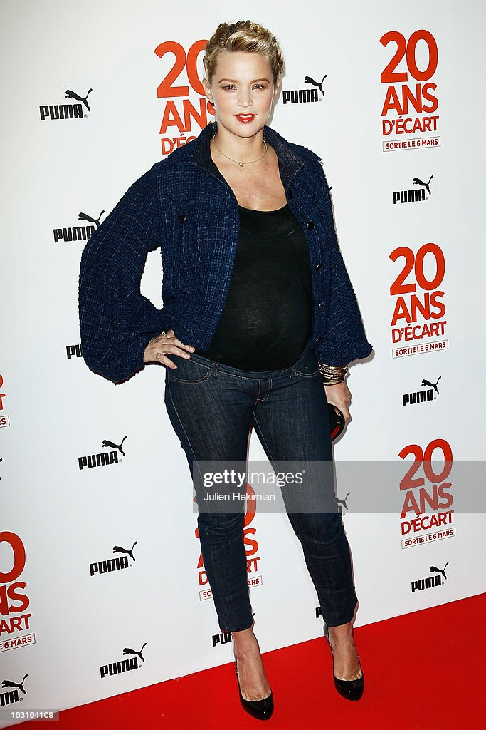Virginie Efira attends '20 Ans D'Ecart' Premiere at Gaumont Capucines on March 5, 2013 in Paris, France.