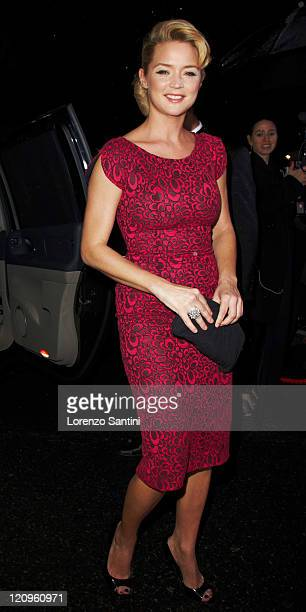 Virginie Efira attends the 35th Cesars Ceremony at Theatre du Chatelet on February 27 2010 in Paris France