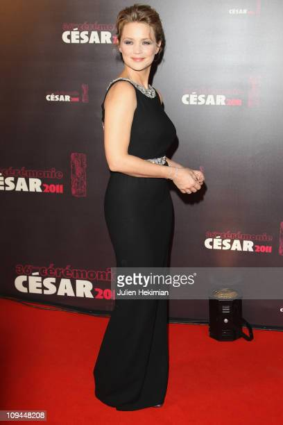 Virginie Efira attends the 36th Cesar Film Awards at Theatre du Chatelet on February 25 2011 in Paris France