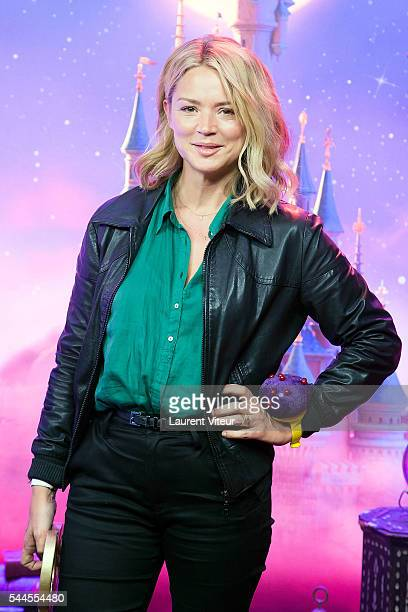 Virginie Efira attends the new show of Disneyland Paris 'Mickey et le Magicien' at Disneyland Paris on July 2 2016 in Paris France