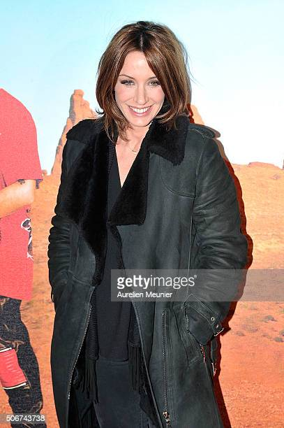 Virginie Guilhaume attends 'Les Tuche' Paris premiere at Gaumont Opera on January 25 2016 in Paris France