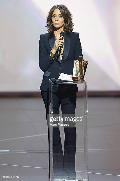 Virginie Guilhaume attends the 30th 'Victoires de la Musique' French Music Awards Ceremony at le Zenith on February 13 2015 in Paris France