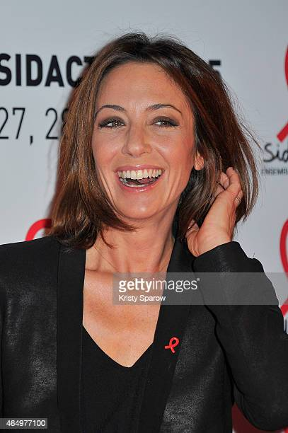 Virginie Guilhaume attends the Sidaction 2015 at Musee du Quai Branly on March 2 2015 in Paris France