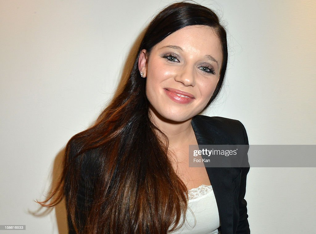 Virginie Hilssone attends the 'Starter TV' Launch Party at Espace Brey on December 20, 2012 in Paris, France.
