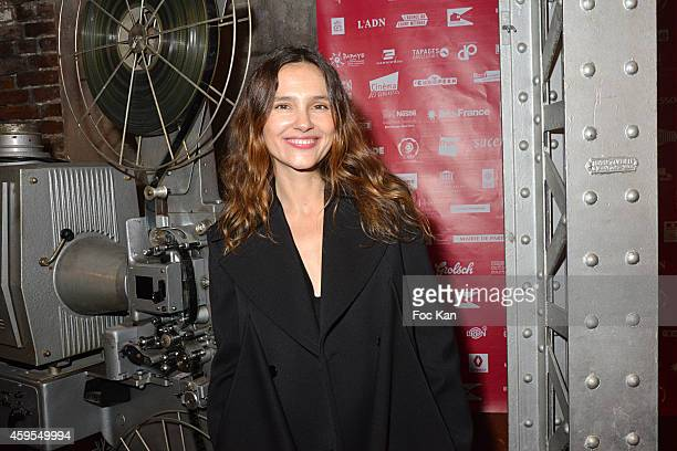 Virginie Ledoyen attends the 'Courts Devant ' 10th Anniversary of Short MoviesÊ Opening Ceremony at Cinema des Cineastes on November 24