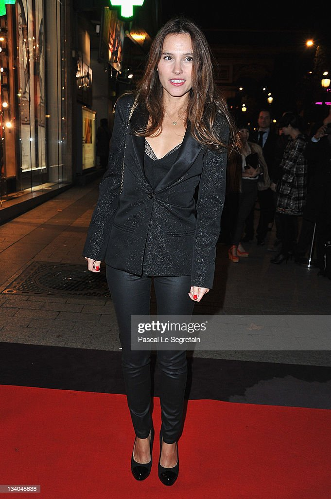 Virginie Ledoyen attends the Lancel celebration of '135 Years Of French Legerete' Hosted By Sienna Miller on November 24 2011 in Paris France
