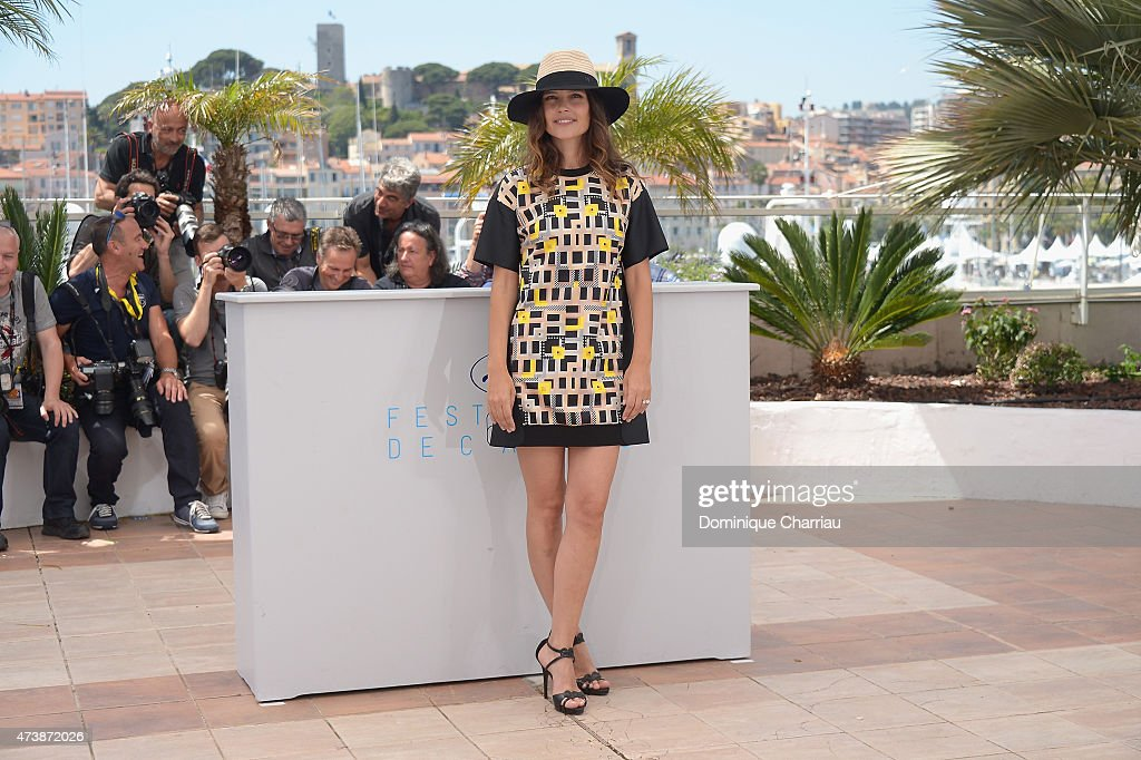 Virginie Ledoyen attends the photocall for 'Enrages' during the 68th annual Cannes Film Festival on May 18 2015 in Cannes France