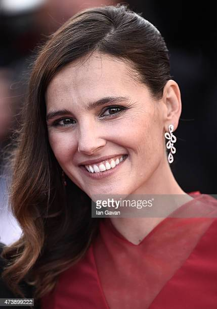 Virginie Ledoyen attends the Premiere of 'Inside Out' during the 68th annual Cannes Film Festival on May 18 2015 in Cannes France