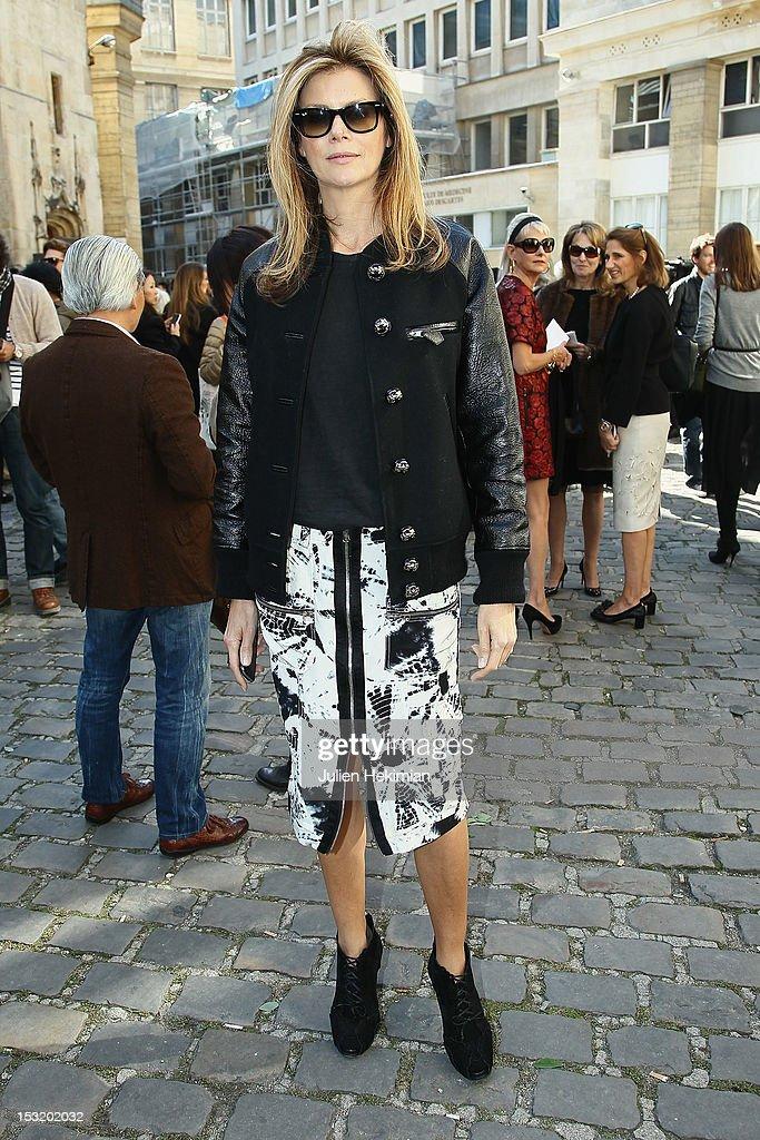 Virginie Mouzat attends the Giambattista Valli Spring / Summer 2013 show as part of Paris Fashion Week on October 1, 2012 in Paris, France.