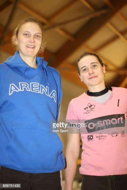 Virginie SARPAUX / Morgane FAURE Smart Marsters de Beach Volley Indoor 2008 Dijon