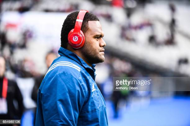 Virimi Vakatawa of France during the RBS Six Nations match between France and Wales at Stade de France on March 18 2017 in Paris France