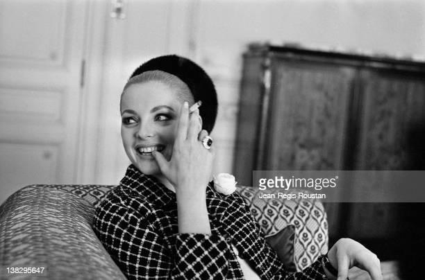 Virna Lisi Italian actress France on March 30 1965
