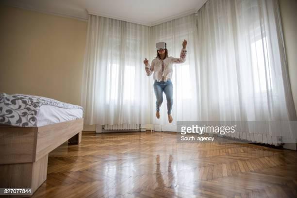 Virtual jump at home