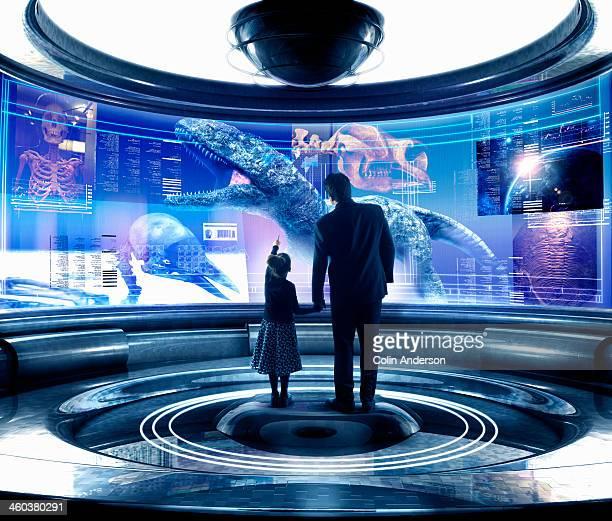 Virtual museum display
