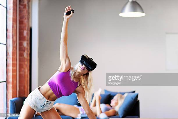 Virtual Reality Exercising