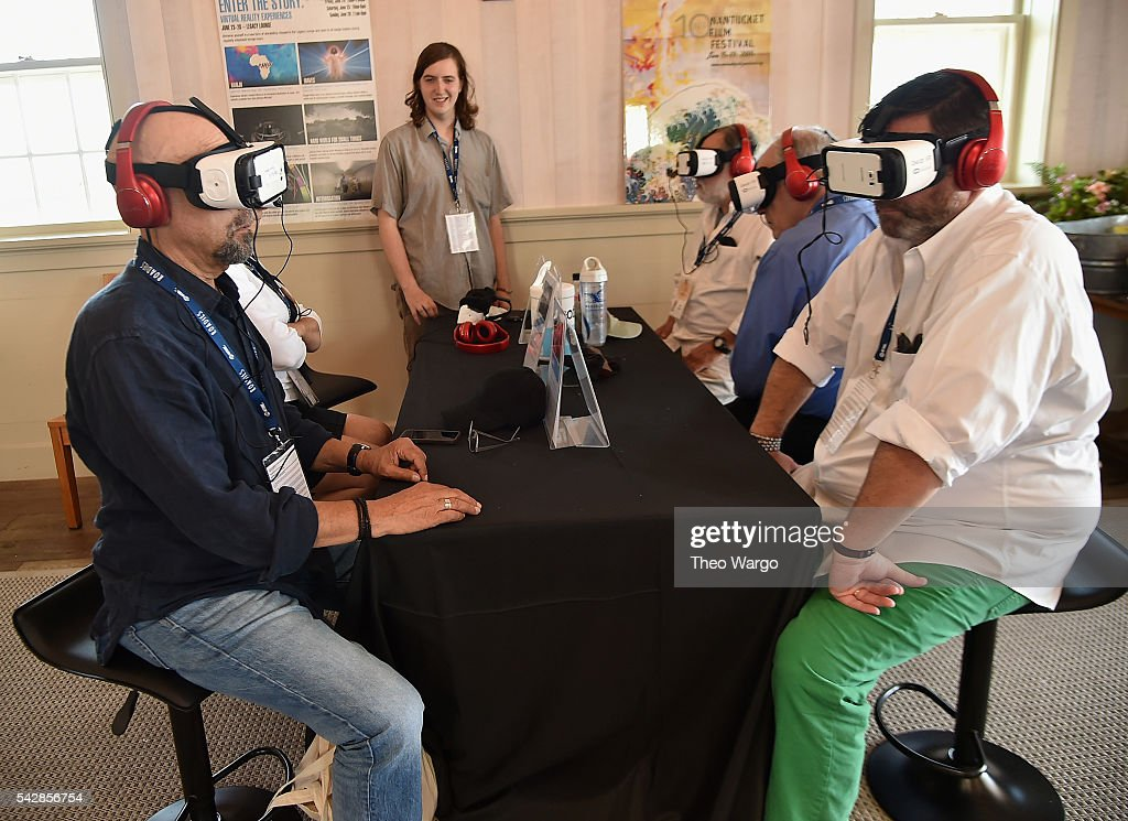 Virtual reality experiences during the 2016 Nantucket Film Festival Day 3 on June 23, 2016 in Nantucket, Massachusetts.