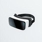 VR virtual reality headset, 3d rendering