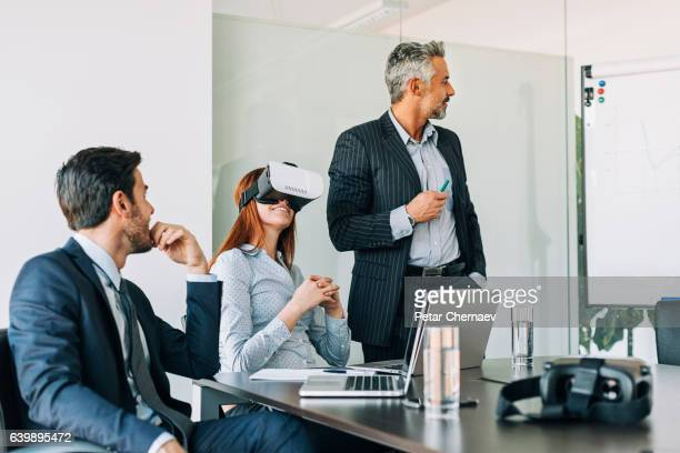 Virtual reality in the office
