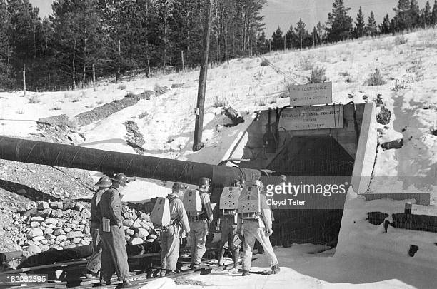 NOV 2 1949 NOV 4 1949 A virtual tomb for Leadville's mining hopes since the end of World war II the huge Leadville drainage tunnel soon will echo...