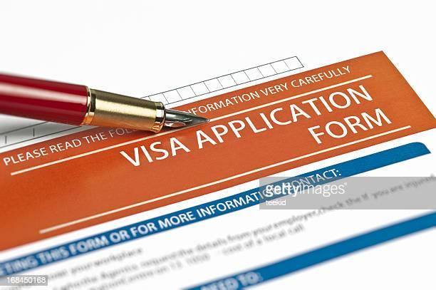 Visa modulo di richiesta