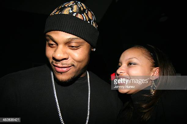 Visanthe Shiancoe and Guest during Beanie Sigel's Birthday Party March 6 2007 at 4040 Club in New York City New York United States