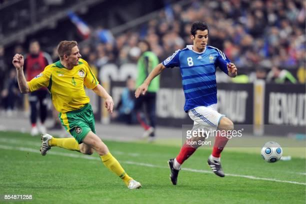 Visas ALUNDERIS / Yoann GOURCUFF France / Lituanie Eliminatoire de la Coupe du Monde 2010
