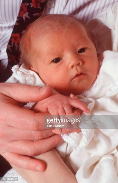Viscount Althorp's Baby Daughter Kitty Eleanor Spencer At St Mary's Hospital Paddington