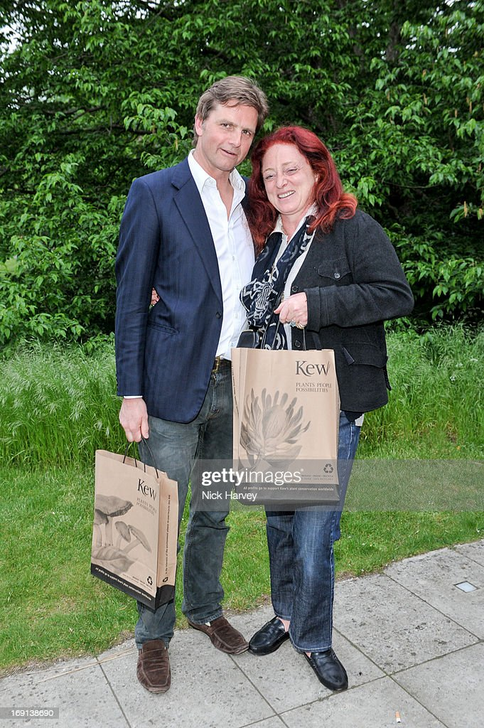 Viscount Cawdor and Camilla Lowther attend Rory McEwen - The Colours of Reality at Kew Gardens on May 20, 2013 in London, England.