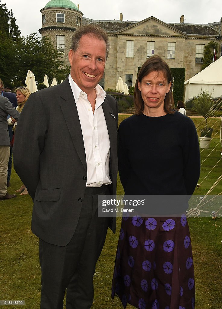 Viscount Linley and Lady Sarah Chatto attend The Cartier Style et Luxe at the Goodwood Festival of Speed at Goodwood on June 26, 2016 in Chichester, England.