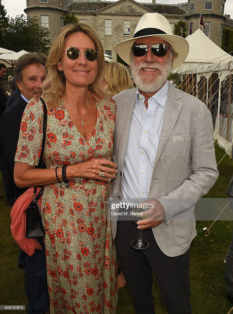 Viscountess and Viscount Cowdray attend The Cartier Style et Luxe at the Goodwood Festival of Speed at Goodwood on June 26, 2016 in Chichester, England.