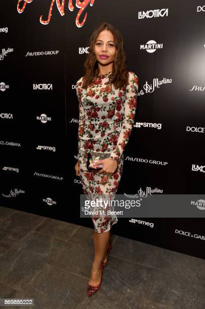 Viscountess Emma Weymouth attends the Dolce Gabbana Italian Christmas after party at Harrods on November 2 2017 in London England