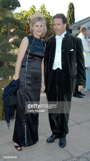Viscountess Serena Linley and Viscount Linley during The 6th Annual White Tie Tiara Ball to Benefit the Elton John Aids Foundation in association...
