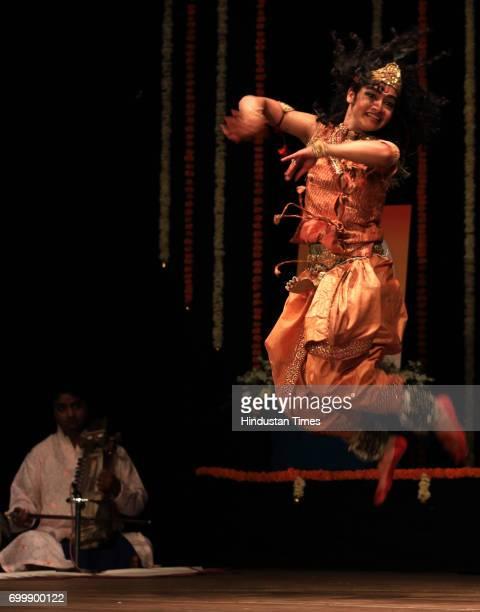 Vishal Krishna performance Kathak at Jaya Smirti organized by Hema Malini at Ravindra Natya Mandir in Mumbai on Saturday