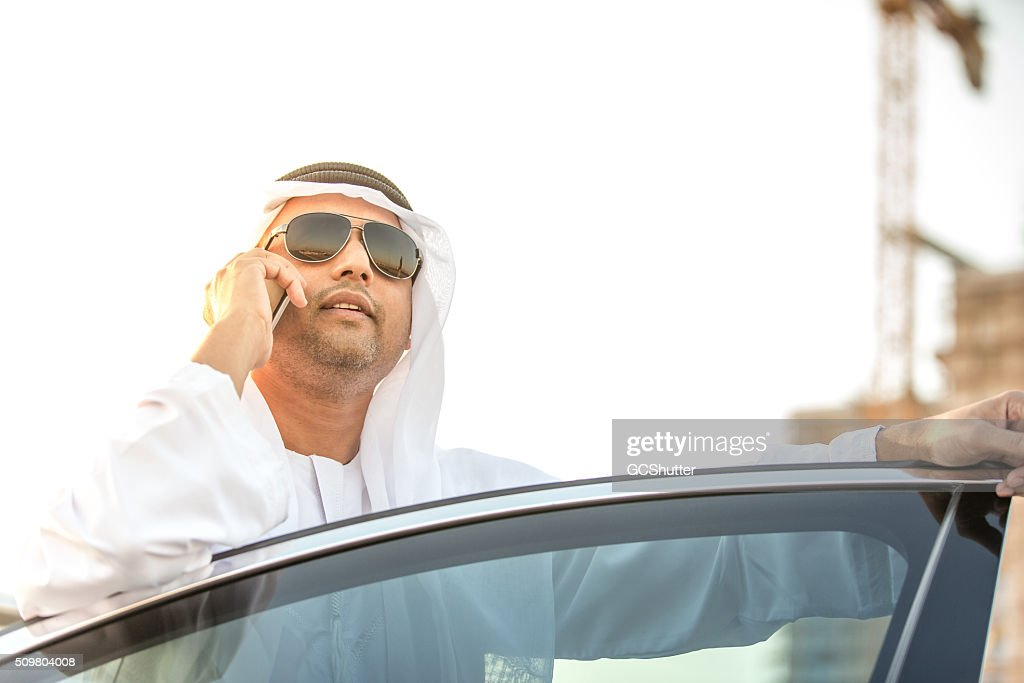 Visionary and Wealthy Arab Businessman