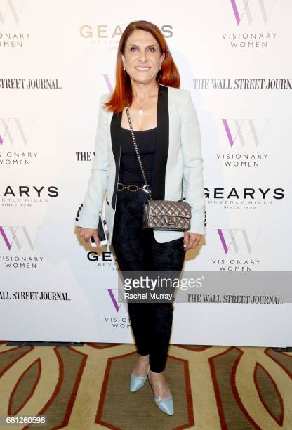 Visionary Circle's Nooshin Meshkaty Computer Scientist and Electronics Specialist attends the Visionary Women's Salon Mind Body and Soul at Montage...
