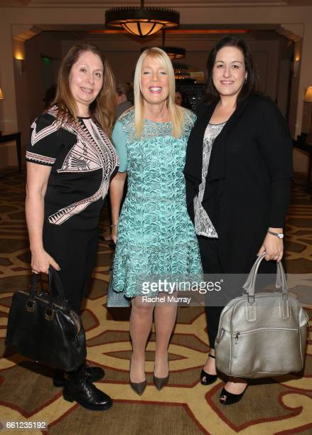 Visionary Women Executive Board Member and Mayor of Beverly Hills Lili Bosse and guests attend the Visionary Women's Salon Mind Body and Soul at...