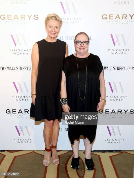 Visionary Women President and Executive Board Member Shelley Reid and Visionary Circle Member Chara Schreyer attend the Visionary Women's Salon Mind...