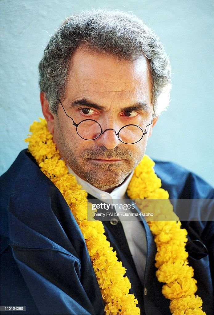 Visit of East Timor leader <a gi-track='captionPersonalityLinkClicked' href=/galleries/search?phrase=Xanana+Gusmao&family=editorial&specificpeople=223915 ng-click='$event.stopPropagation()'>Xanana Gusmao</a> in Bangkok, Thailand on February 01, 2000 - During a visit of a Bangkok's slum