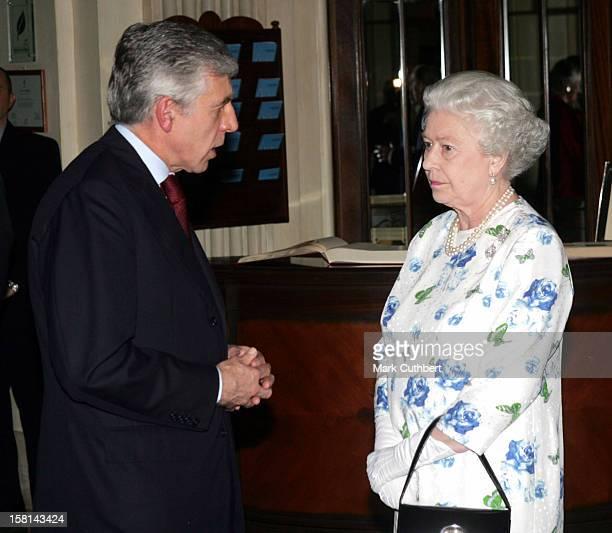 Visit To Malta By Queen Elizabeth Ii The Duke Of EdinburghReception At Hotel Phoenicia In Floriana