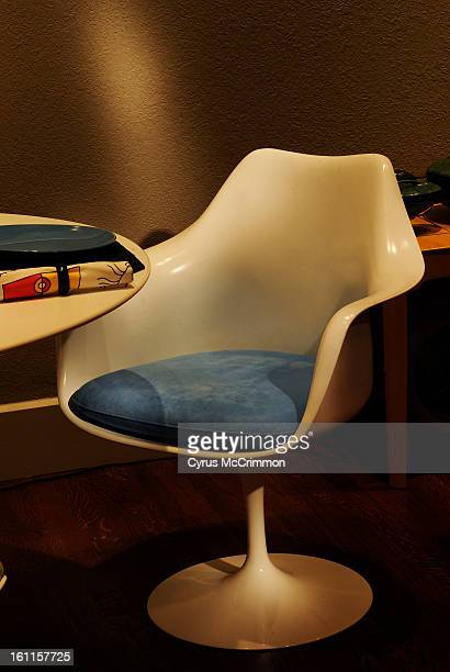 Visit to the Kirkland Museum and viewing the Eero Saarinen show of furniture on Tuesday October 12 2010 One of the 'Tulip Chairs' Cyrus McCrimmon The...