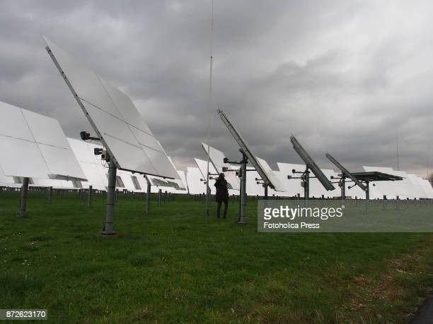 Visit to the Solar Thermal Power Plant in Julich as a side event of the United Nations Framework Convention on Climate Change UNFCCC COP23