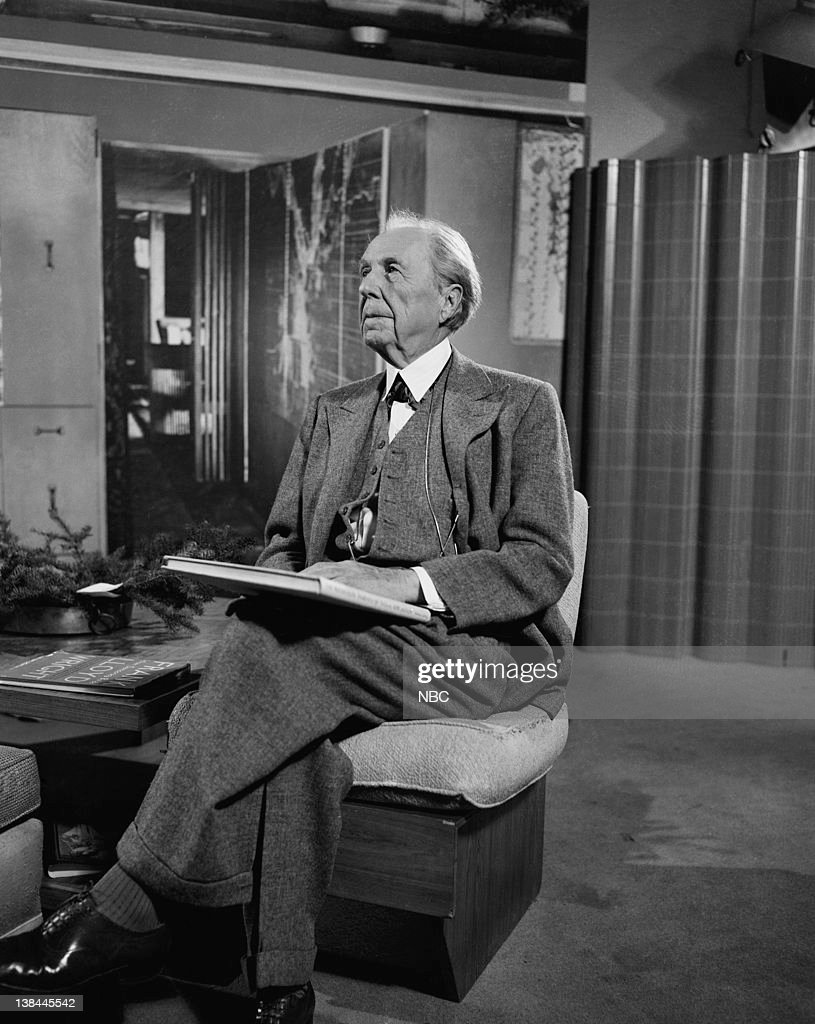 Visit with frank lloyd wright 39 episode 105 pictured for Frank lloyd wright parents