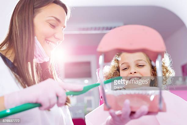 Visit your dentist for healthy teeth and oral hygiene