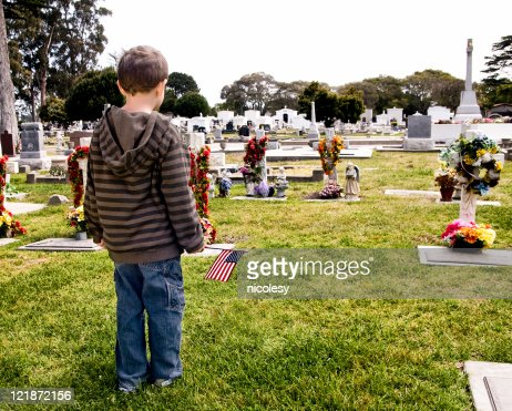 Visiting a Grave
