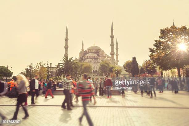 Visiting the Blue Mosque