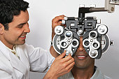 Visiting the Eye Doctor
